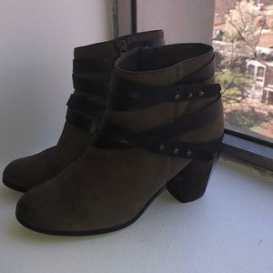 BP Train Wrap Belted Bootie- Very good condition!
